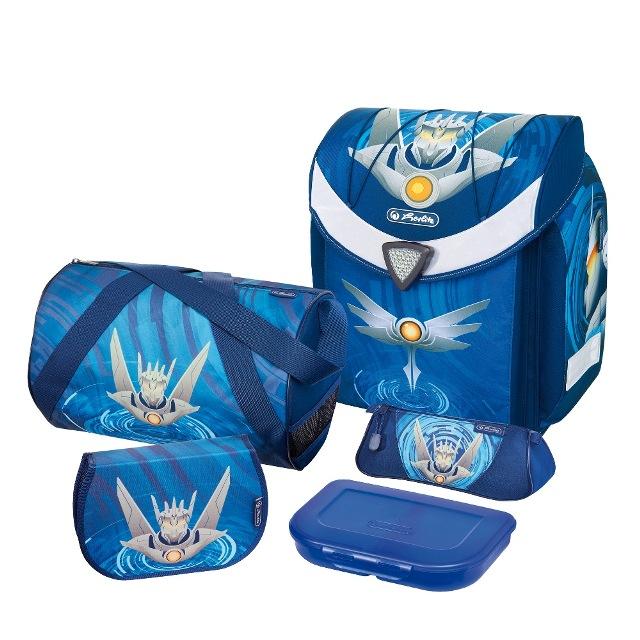 Herlitz školní taška Flexi plus set robot fcf4190b32