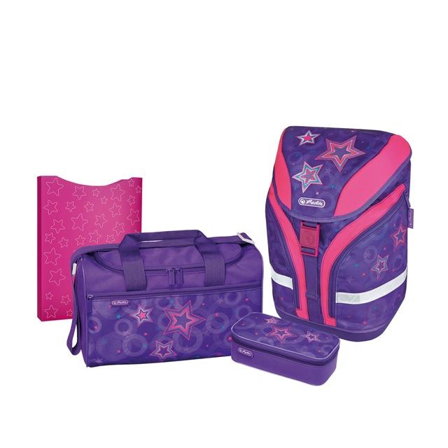 Herlitz školní batoh motion set hvězdy 99a1021080