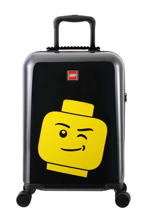 "LEGO Luggage ColourBox Minifigure Head 20"" - Černý"
