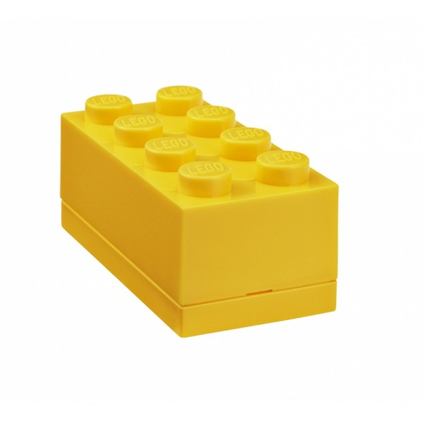 LEGO mini box 8 46 x 92 x 43 mm - žlutá