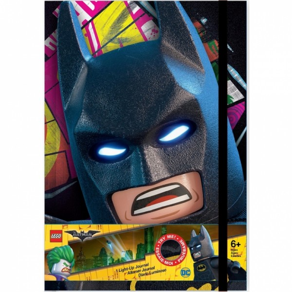 LEGO Batman Movie Diář (Batman LED)