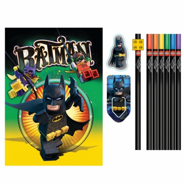LEGO Batman Movie Stationery set s diářem