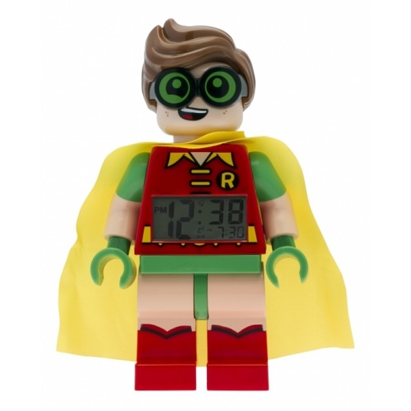 LEGO Batman Movie Robin - hodiny s budíkem