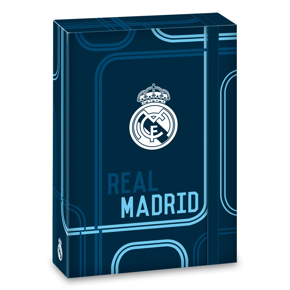 Ars Una Box na sešity Real Madrid blue A5