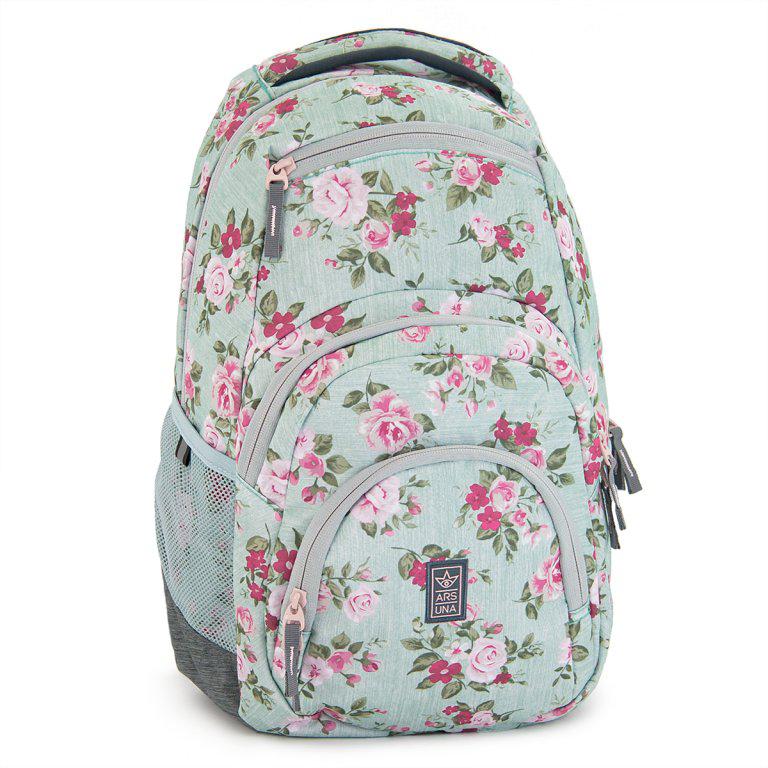 Ars Una Studentský batoh Vintage Rose AU2 2fbbcfe36e