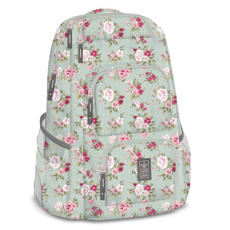 Ars Una Studentský batoh Vintage Rose AU7 a9cc7a620c