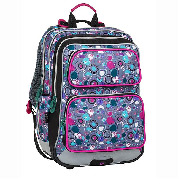 Bagmaster tříkomorový školní batoh pro prvňáčky GALAXY 8 3b776019bc