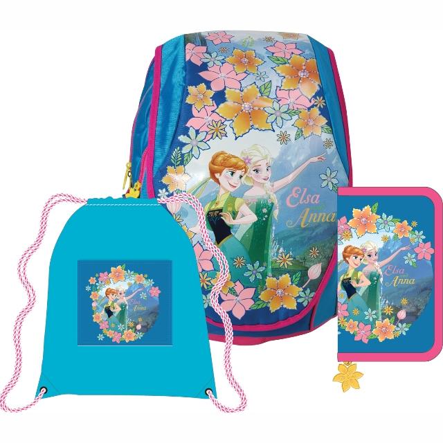 c0daec9c602 Sun Ce anatomický školní batoh ABB set - Disney Ledové království (Frozen)