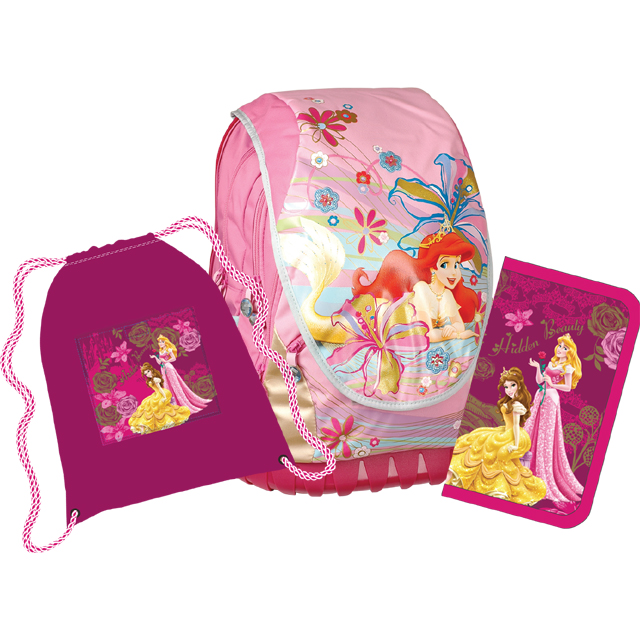 Sun Ce anatomický školní batoh ABB set - Disney Princezny 7db05a223a