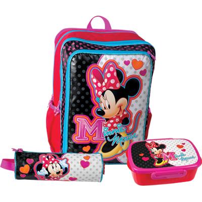 6de03cdedde Sun Ce školní batoh set - Disney Minnie