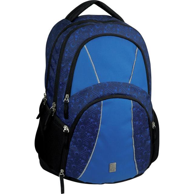 1c7d2edb110 Sun Ce studentský batoh kombinace modré barvy s potiskem - Sci-fi