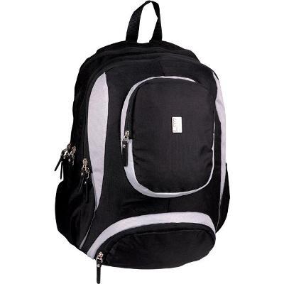 Sun Ce studentský batoh na laptop barva černá s bílou - Sci-fi 9b16c4917a