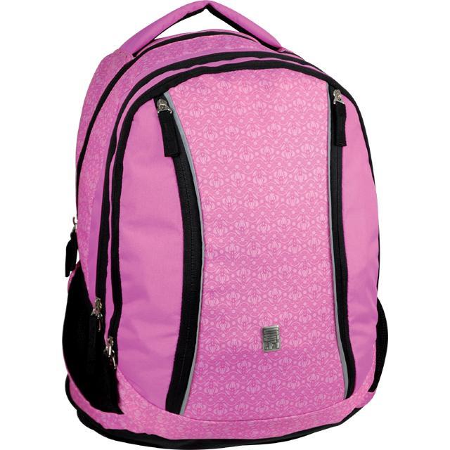 Sun Ce studentský batoh růžový s potiskem - Sci-fi 554fa0891d