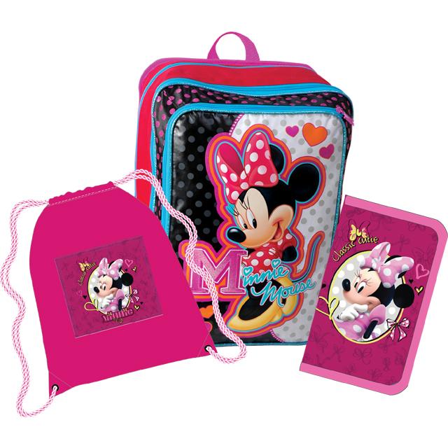 Sun Ce E.V.A. školní batoh set - Disney Minnie 786d618649