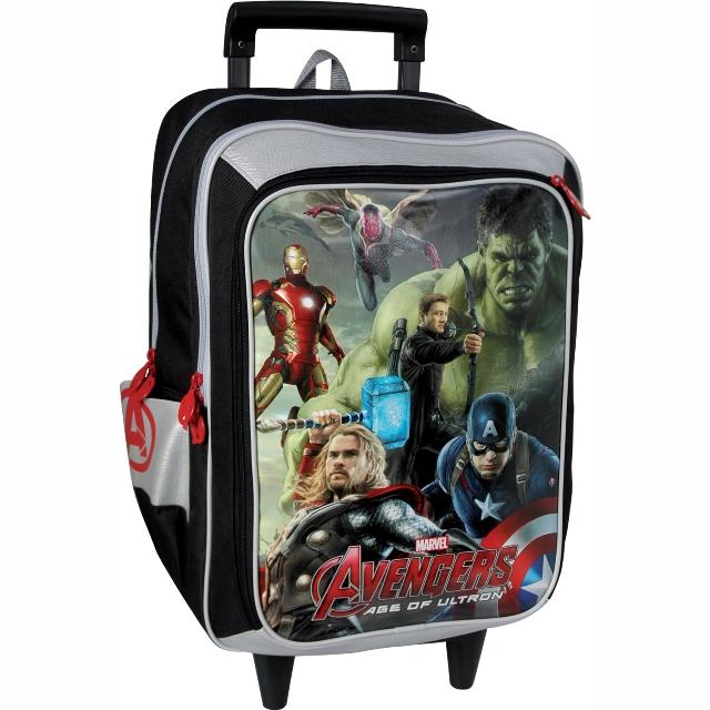 5045a533aac Sun Ce školní batoh na kolečkách - Marvel Avengers