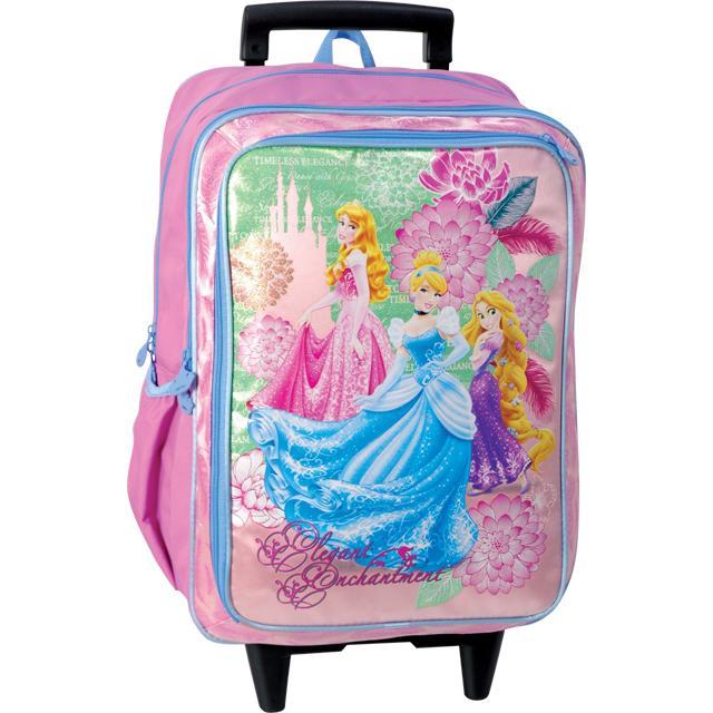 e14dad4071e Sun Ce školní batoh na kolečkách - Disney Princezny