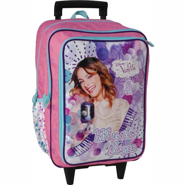 Sun Ce školní batoh na kolečkách - Disney Violetta  133966cbda