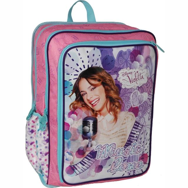 Sun Ce E.V.A. školní batoh - Disney Violetta. Výprodej e7a4149172