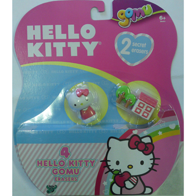 Gomu - Hello Kitty 4 figurky