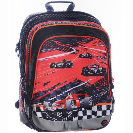 Bagmaster čtyřkomorový prostorný školní batoh  d19a802ffa