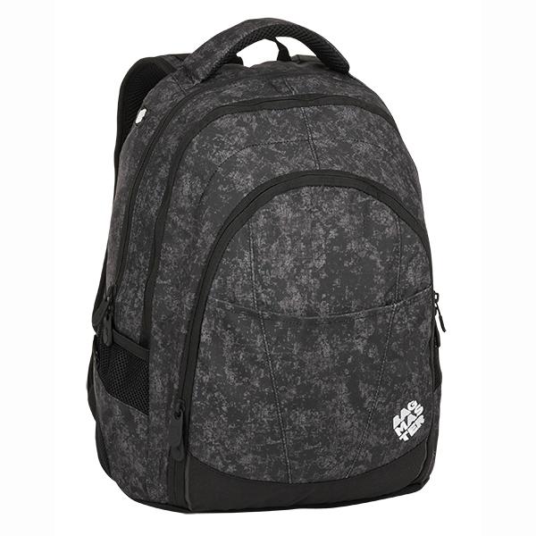 2c49f6d6d8 Bagmaster tříkomorový studentský batoh na notebook DIGITAL 8 ...