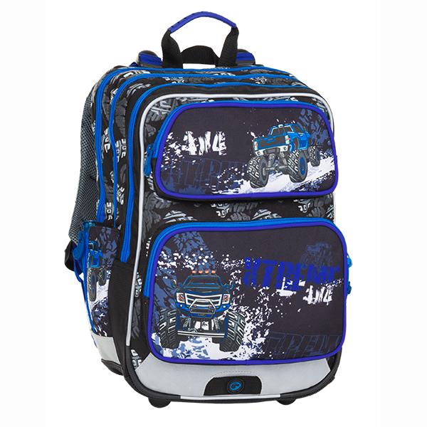Bagmaster tříkomorový školní batoh pro prvňáčky GALAXY 8  049fbf0d70