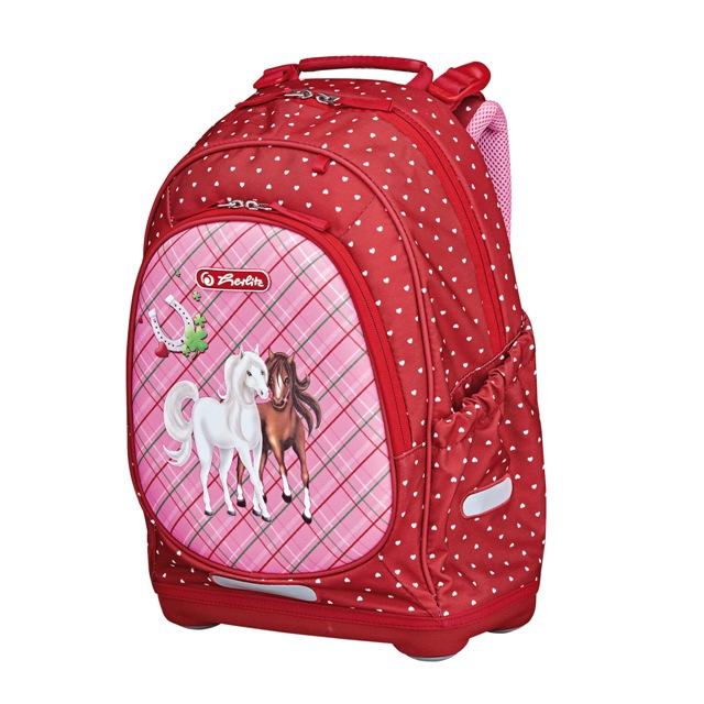 Herlitz školní batoh Bliss - Koně  6746e0fc5b